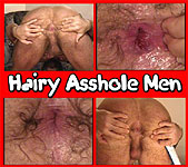 Hairy Asshole Men